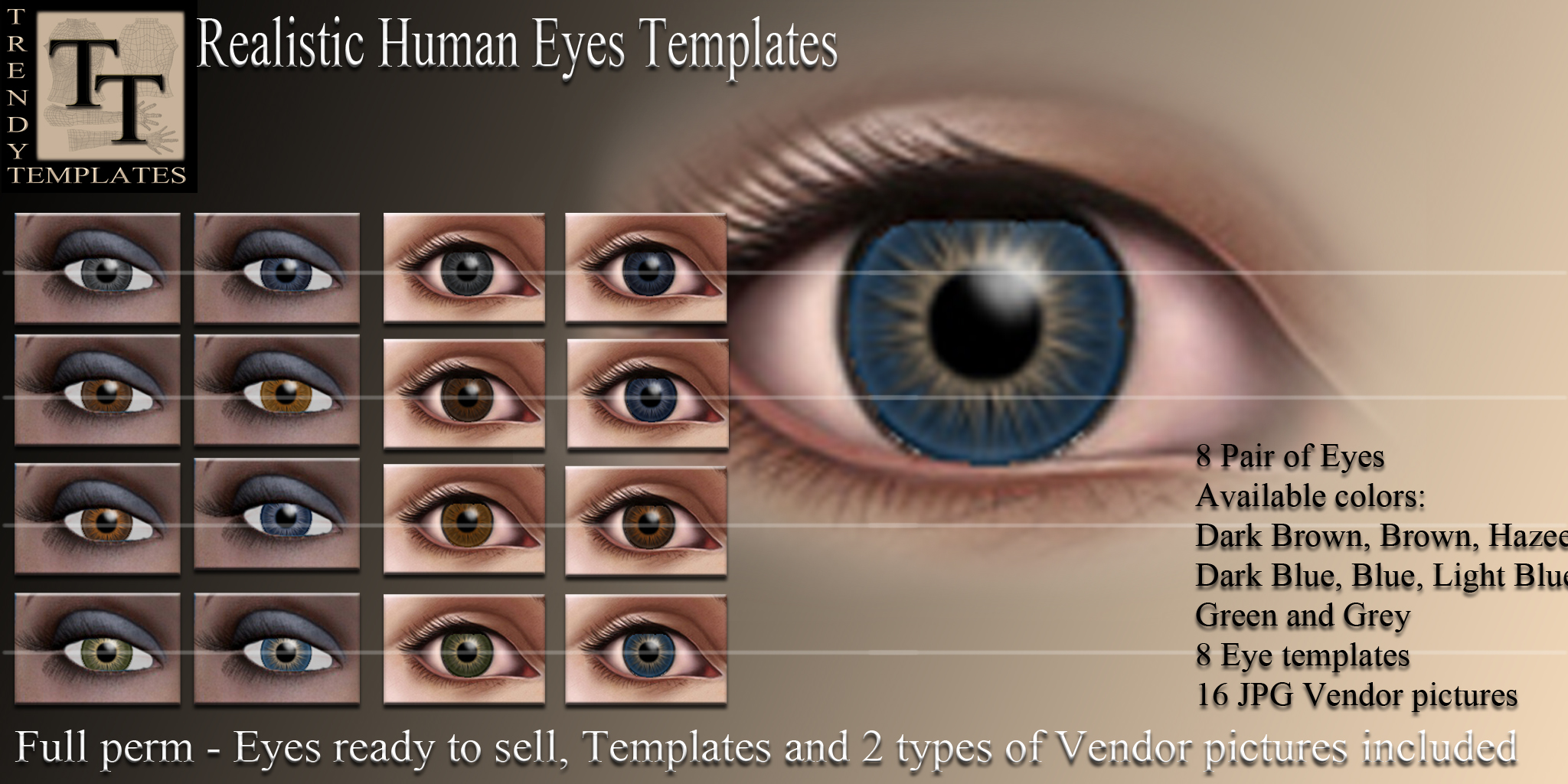 eyes trendy templates