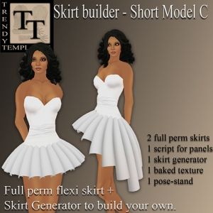 Builder Aid Skirt Generator Short Model C