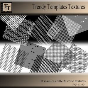 Promo TT Textures - Tulle and Voile