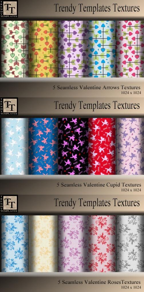 All Valentine textures 2012