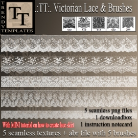 Promo TT Victorian Lace Borders & Brushes_s