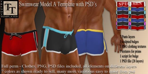 PROMO Swimwear Model A