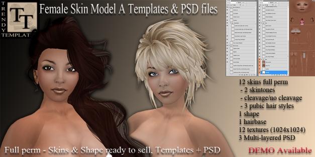 Promo TT Female Skin Model A
