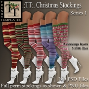MM Board Christmas Stockings Series 1