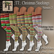 MM Board Christmas Stockings Series 2