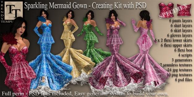 Promo Sparkling Mermaid