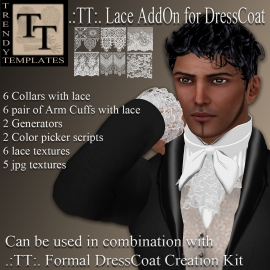 Promo Lace AddOn for DressSuit