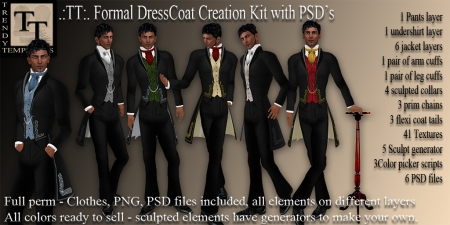 Promo TT Formal DressCoat