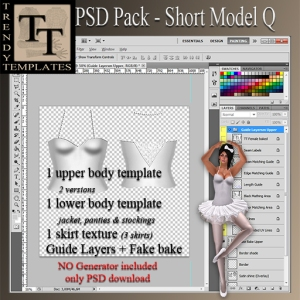 PROMO PSD Pack Short Model Q