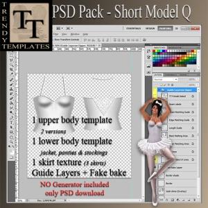 PROMO PSD Pack Short Model Q