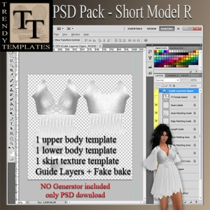 PROMO PSD Pack Short Model R