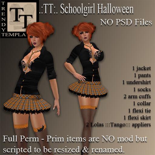 PROMO Schoolgirl Halloween