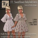 PROMO SweetFlower BabyDoll Dress
