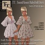 PROMO SweetFlower BabyDoll Dress