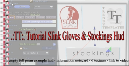 PROMO Tutorial Slink Gloves & Stockings Hud