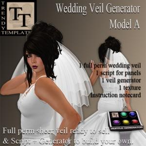 PROMO Wedding Veil Generator Model A