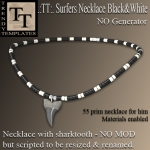 Promo Surfers Necklace Black&White
