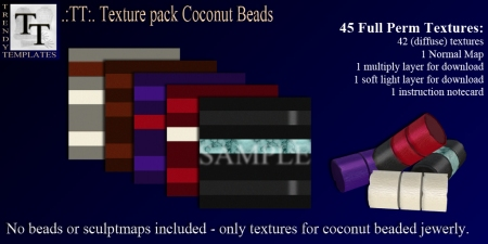 Promo TT Texture Pack Coconut Beads