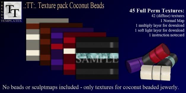 Promo TT Texture Pack Coconut Beads