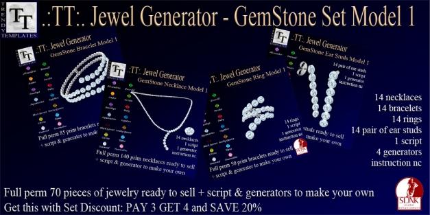 PROMO Jewel Generators GemStone Set Model 1