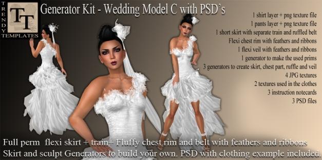 Promo Wedding Model C