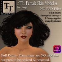 Female Skin A - Tan Vamp PIC