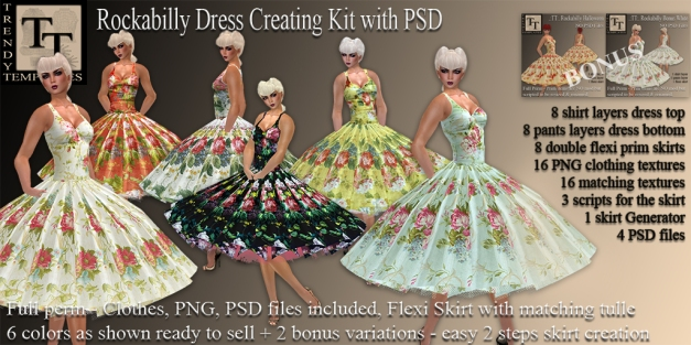 Promo Rockabilly Dress