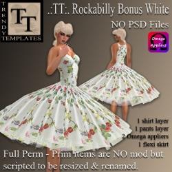 Rockabilly Bonus White PIC