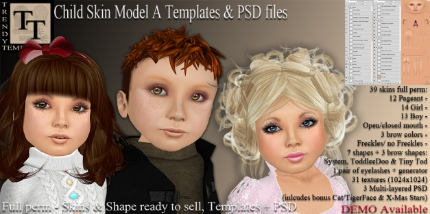 Promo TT Child Skin Model A