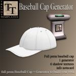 Promo BaseBall Cap generator