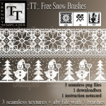 Promo TT Free Snow Borders & Brushes
