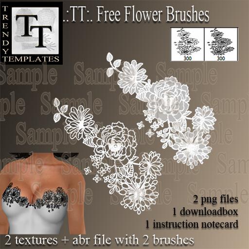 Promo TT Free Flower Brushe