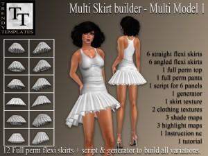 PROMO Skirt Generator Multi Model 1