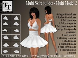 PROMO Skirt Generator Multi Model 2