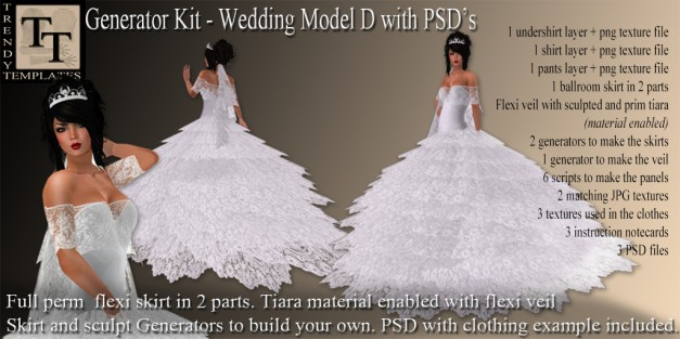 Promo Wedding Model D
