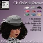 Promo Cloche Hat Veil Generator
