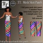 PROMO Mesh Skirt Panels