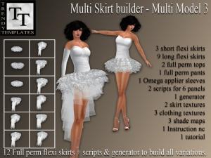 PROMO Skirt Generator Multi Model 3