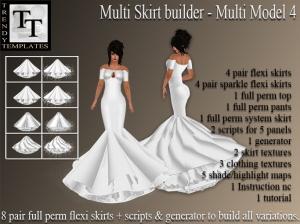PROMO Skirt Generator Multi Model 4