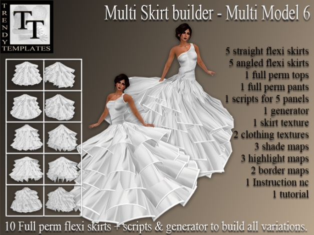 PROMO Skirt Generator Multi Model 6